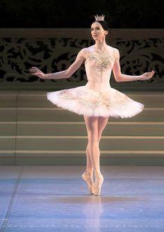 Olesya Novikova - Mariinsky Ballet. Photo: Nikolai Krusser
