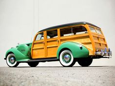 1940 Packard 120 Station Wagon..Re-pin Brought to you by #CarInsurance at #HouseofInsurance in Eugene