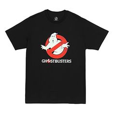 Ghostbusters Distressed Logo To Go Mens T-Shirt Black XX-Large @ niftywarehouse.com #NiftyWarehouse #Ghostbusters #Movie #Ghosts #Movies #Film