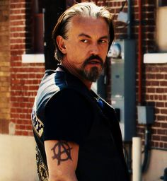 Chibs from SOA. He's my dirty, sexy, older man crush. *swoon