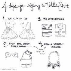 4 Tips for Styling a Tulle Skirt