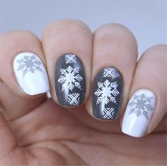 AmazonSmile : Born Pretty Christmas Nail Art Stamping Plate Stamp Template Image Plate BPX-L008 : Beauty