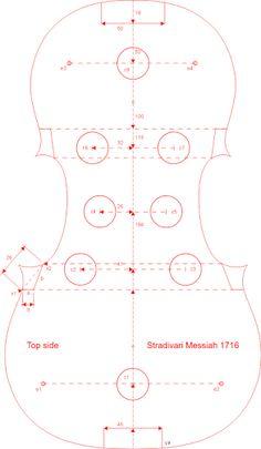 Resultado de imagen para violin measurements