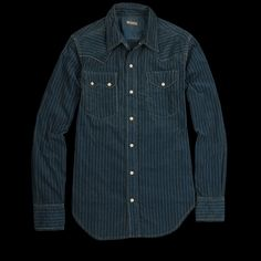 Kapital and all of their perfect, perfect looking pieces. #holidaygift #indigo #workshirt