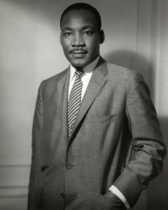January 15, 1929: Michael Luther King, Jr. is born in Atlanta, GA.  His father changed both their names to Martin in 1934.  Unidentified photographer, Martin Luther King, Jr., n.d.  NYHS image #83718d.