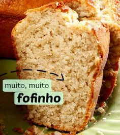 For sure, it is a mysterious food. Sweet Recipes, Cake Recipes, Brazillian Food, Homemade Cakes, Banana Bread, Bolo Banana, I Foods, Food Cakes, Love Food