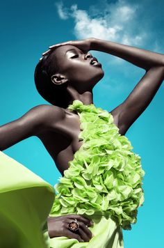 FAB Editorial: Stunning Colour by Franziska Nettel for Moga Magazine - FAB BLOG