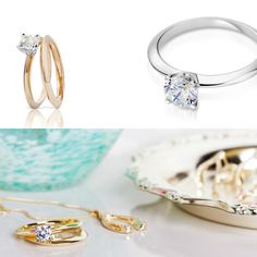 Would you say 'yes' to rose, yellow, white or platinum?  #ClogauCompose #engagement #diamond