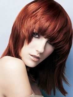 Glossy Medium Hair Style Trends