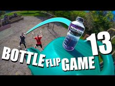 ULTIMATE Game of BOTTLE FLIP! | Round 13 - YouTube Ultimate Games, Flipping, Channel, Film, Bottle, Youtube, Movie, Film Stock, Flask