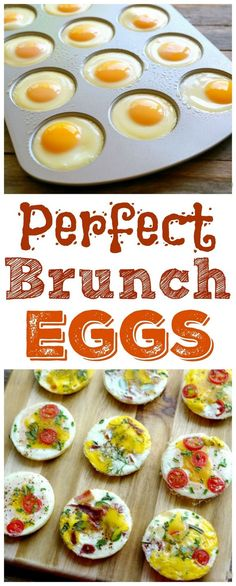 Perfect Brunch Eggs from http://NoblePig.com