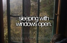 one of my favorites. and to actually have a cool breeze come through? now THAT'S something we dont get in summertime