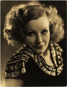 Greta Garbo (and her fabulous hair), by Clarence Sinclair Bull, 1930