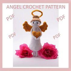crochet angel pattern crochet angel ornaments amigurumi