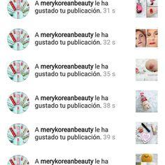 Muchas gracias  @merykoreanbeauty