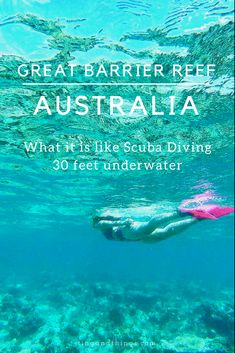 Scuba Diving Experience at Great Barrier Reef in Australia and Things to Know. via tingandthings.com