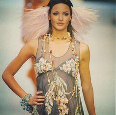 Claudia Mason - CHANEL Couture Runway Show 93'