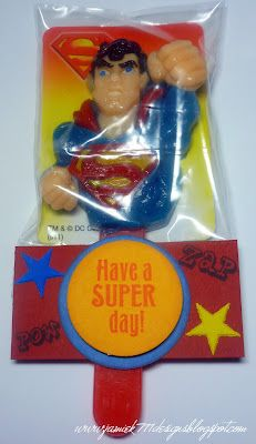 Superman Treat with Jaded Blossom Stamps