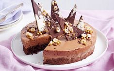 Chocolate and Hazelnut Mousse Cake Recipe recipe | Food To Love