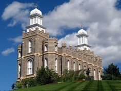 Click to enlarge this image of the Logan Utah Mormon Temple