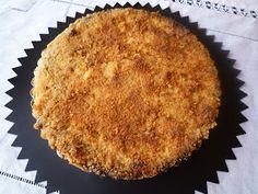 La cocina de Lola: Tarta de compota de manzana con cobertura crujiente