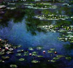 Monet - Water Lilies. I kept going back to Chicago just to sit with this painting.