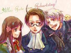 Austria Prussia and Hungary