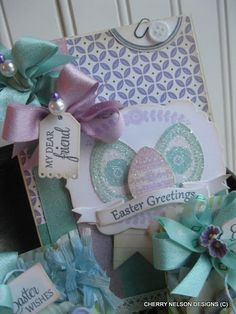 Lovely Easter Card Inspiration...so pretty!
