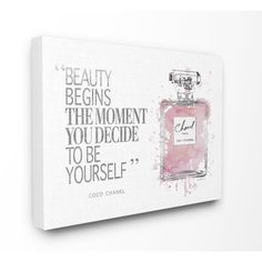 Shop for Stupell Industries Beauty Begins Fashion Perfume Wall Art. Get free delivery On EVERYTHING* Overstock - Your Online Art Gallery Store! Get in rewards with Club O! Abstract Canvas, Abstract Print, Canvas Wall Art, Canvas Prints, Pink Candles, Thing 1, Canvas Designs, Novelty Print, Decoration
