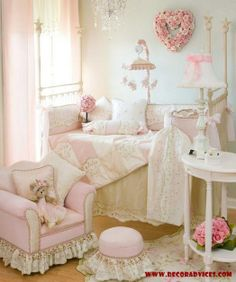 soft pink baby room design ideas  Guidelines When Decorating Your Baby's Nursery Room