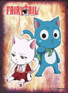 Department is Merchandise, Wall decoration, Wallscrolls/Fabric posters. Publisher is GE Animation. Series is Fairy Tail Fairy Tail Cat, Fairy Tail Happy, Fairy Tail Love, Fairy Tail Ships, Fairy Tail Anime, Erza Scarlet, Anime Echii, Anime Love, Nalu