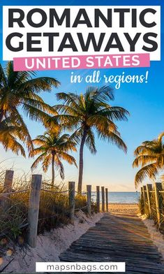 Looking for the most romantic getaways in the United States? Then you'll love these magical places in America to experience with your partner! | romantic places in USA | romantic vacations spots for couples | romantic destinations america | anniversaries for couples