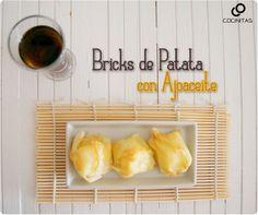 Bricks de Patata con Ajoaceite