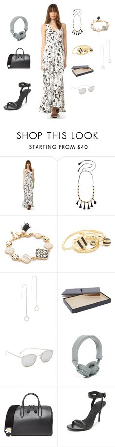 """Fashion tells the attitude"" by camry-brynn ❤ liked on Polyvore featuring A.L.C., Kate Spade, Noir Jewelry, Eddie Borgo, Linda Farrow, Urbanears, Anya Hindmarch, Alexander Wang and vintage"
