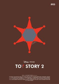 Toy Story 2 -Minimalist Poster
