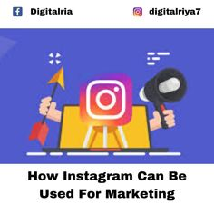 How instagram can be used for marketing? Comment below your answer #instamarketing #instagram #instagrambusiness #instagramtips #instagramstrategy #instabusiness #instamarketing #instapromotion #instagrampromotion #instagramads #instagramadvantage #instabenifits #instagraminfluencer #digitalmarketinginfulencer #digitalmarketing #digitalmarketingseries #freedigitalmarketingclass #freedigitalmarketingcourse #freeinstagrampromotion #instadaily #instadigitalmarketing #instagramdigital… Instagram Promotion, Instagram Bio, Instagram Influencer, Being Used, Digital Marketing, Business, Free, Store, Business Illustration