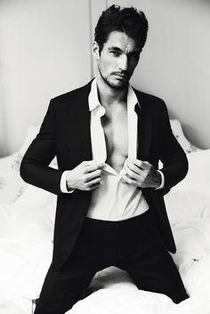 "S Moda ""El Pais"" Spanish Magazine/ 2 March 2013 / Wearing Giorgio Armani.  Photographer: Damon Baker  Model: David Gandy"