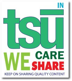 This is my invitation for you to join tsū