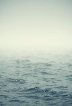 the fading sea.....