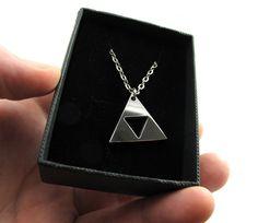 "Legend of Zelda 1"" Triforce - Polished Stainless Steel by milkool on Etsy https://www.etsy.com/listing/92078726/legend-of-zelda-1-triforce-polished"
