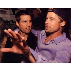 "2,725 Likes, 93 Comments - Brad Pitt ️️️ (@bradpittoficial) on Instagram: ""W/ Tom Cruise"""
