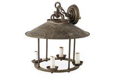 "Antique Carousel Lantern on OneKingsLane.com | metal | 17""dia x 17""h | 185.00"