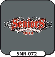 We are not limited to the thousands of templates on our website. We welcome custom designs no matter how big or small! Head on over with your unique idea for senior t-shirts! Spiritwear.com