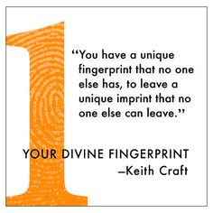 """""""#Values are like fingerprints. Nobody's are the same, but ... 