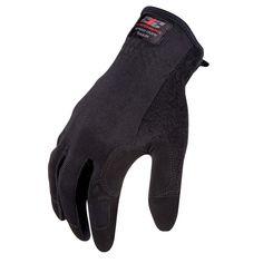 Speed Cuff Touchscreen Compatible Work Gloves, Black, Blacks