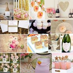 Love all things glam & sophisticated? Then a Sparkling Champagne bridal shower is for you! This event can be held as a ritzy brunch, glitzy cocktail party