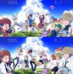 Digimon Tri. These are FEELS.