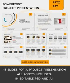 project on powerpoint presentation