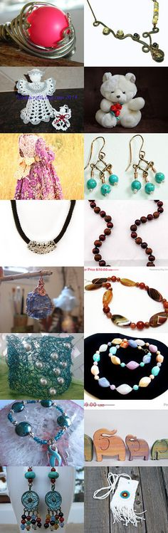 Summertime by Kathi Demaret on Etsy-- #lacwe #décor #handmade #vintage #accessories #jewelry #fineart