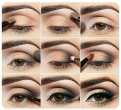 Aprende a #maquillar tus ojos siguiendo estos #pasoapaso. ¡Lucirás increíble! #MaquillajePasoaPaso #Maquillaje #MaquillajeDeNoche #MaquillajeDeOjos